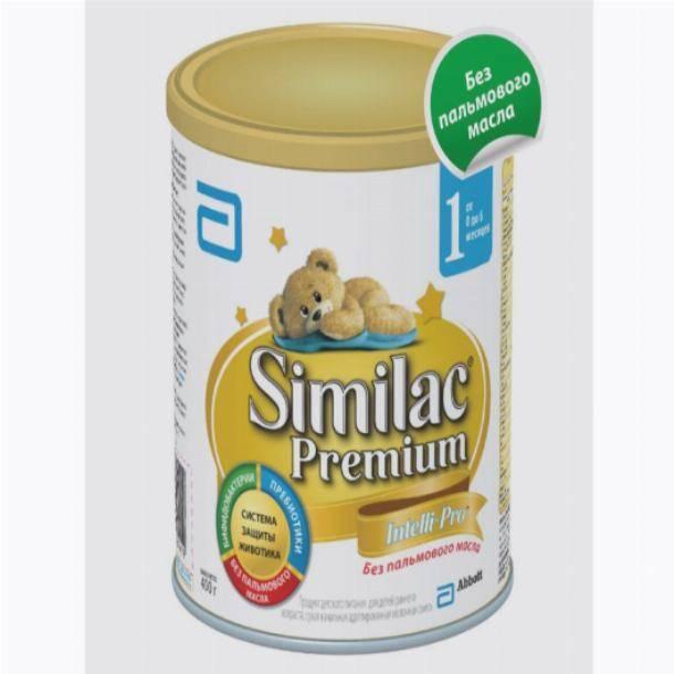 Детская смесь без пальмового масла: топ-8 марок