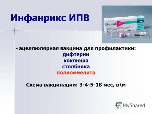 Вакцина инфанрикс гекса: состав прививки и инструкция по применению