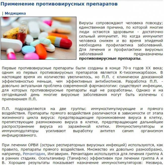 Ацикловир детям инструкция по применению препарата