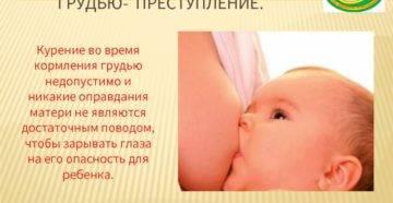 Курение при гв как влияет на ребенка? - мамина кроха