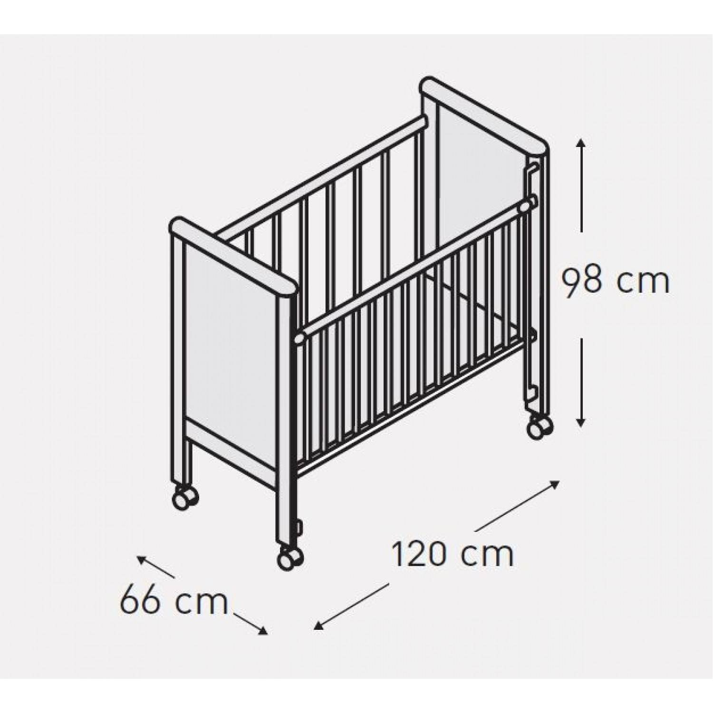 Размеры детской кроватки: от новорожденного до подростка