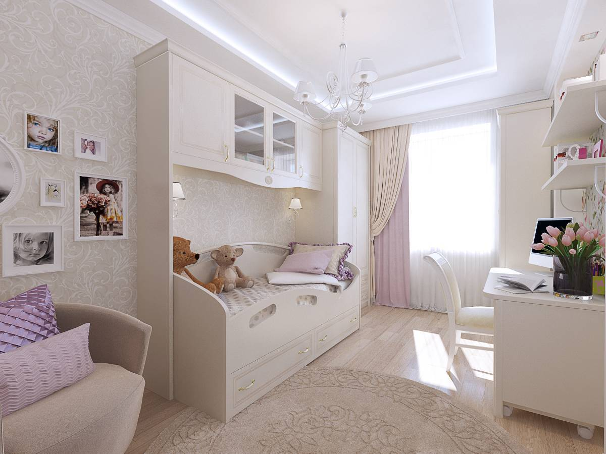 100 лучших идей дизайна: комната для девочки-подростка на фото