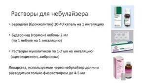 Ингаляции с физраствором небулайзером - инструкция, дозировка для детей, взрослых