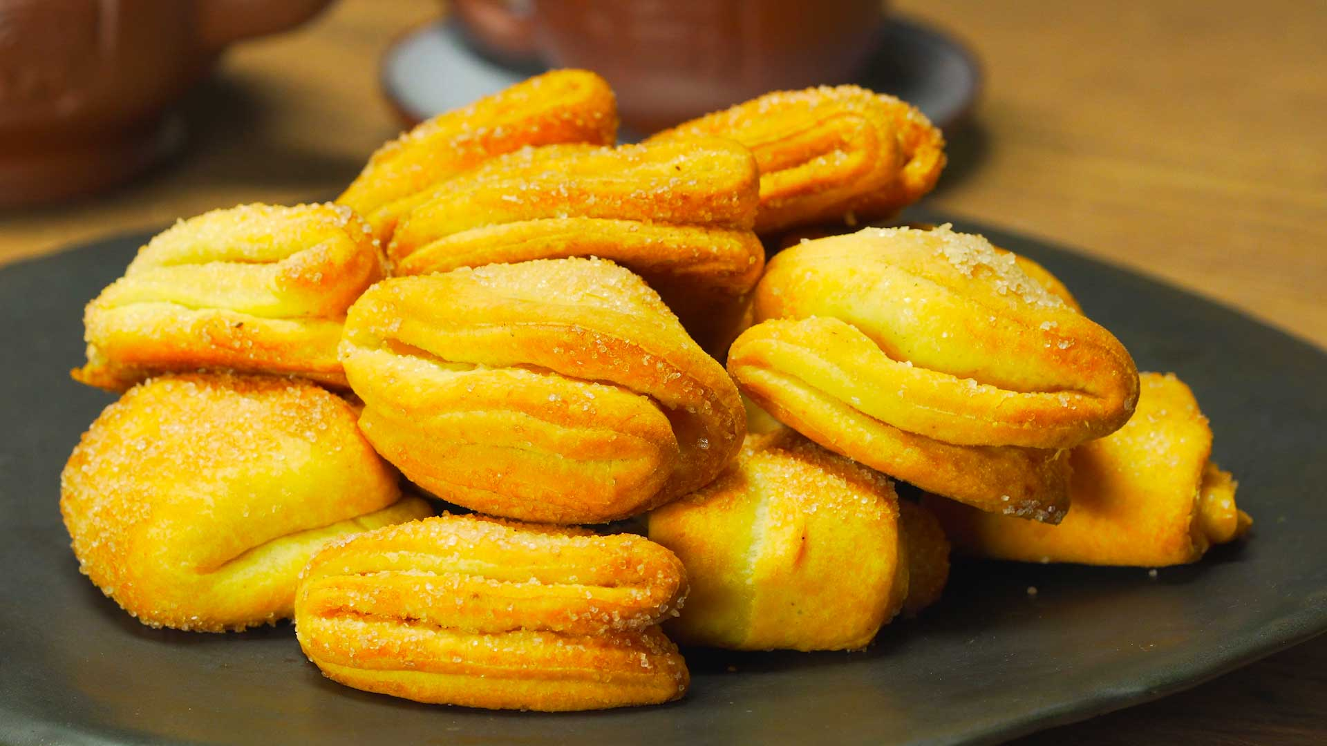 Печенье творожно-овсяное с яблоками – кулинарный рецепт