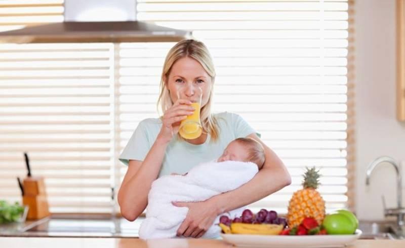 Зефир кормящим матерям - можно ли в первый месяц?