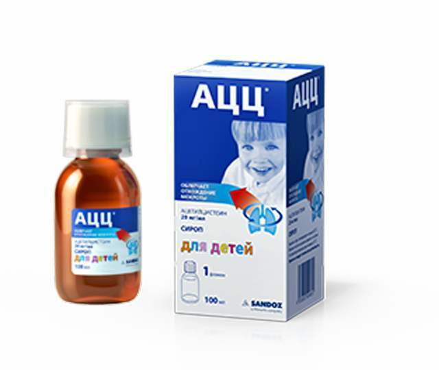 Ацц для детей: инструкция по применению (порошок, сироп, таблетки), отзывы, аналоги