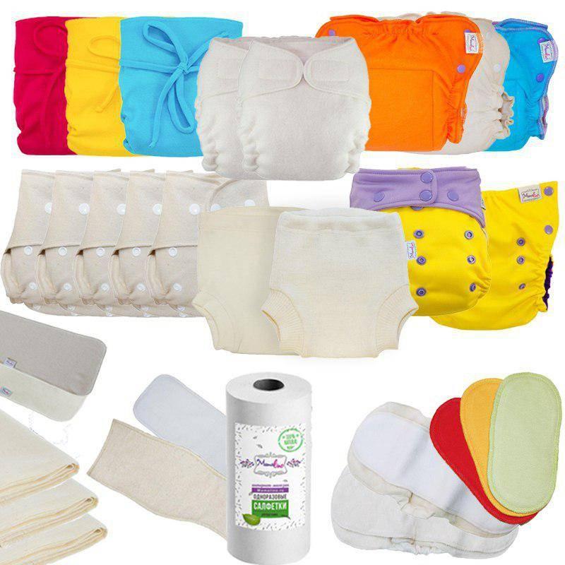 Чем заменить подгузники новорожденному дома?