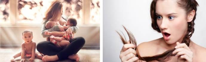Выпадают волосы после родов при грудном вскармливании: что делать женщине, отзывы