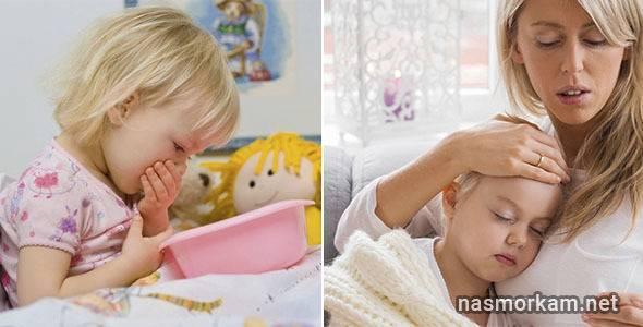Как остановить сильный кашель у ребенка ночью