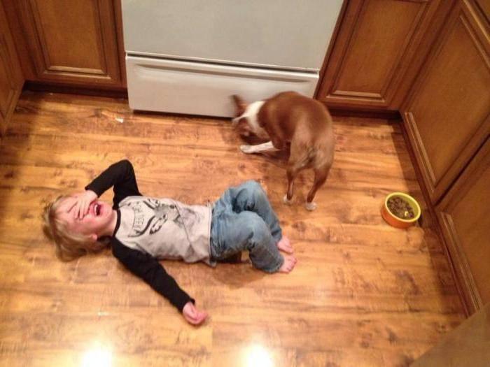 Ребенок ударился головой: на что обратить внимание