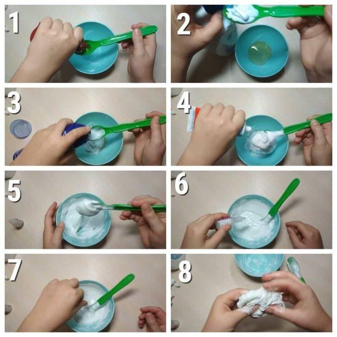 Лизуны без клея и тетрабората натрия: 14 рецептов приготовления слаймов, а также как сделать игрушку без пва или с его применением?