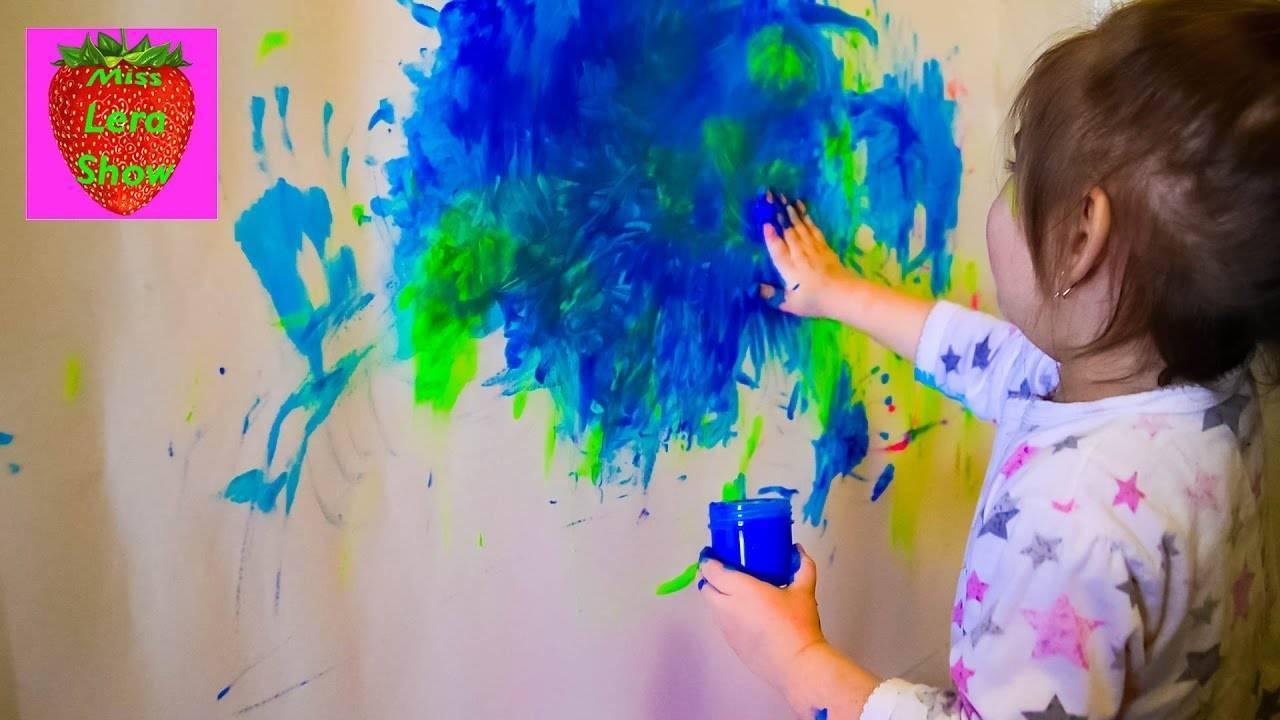 Ребенок рисует черным цветом - что это значит: мнение психолога