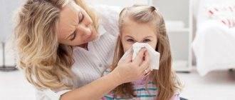 Кашель при аденоидах у детей - лечение и диагностика