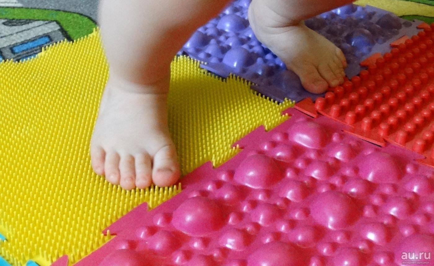 Коврик для профилактики плоскостопия - особенности применения