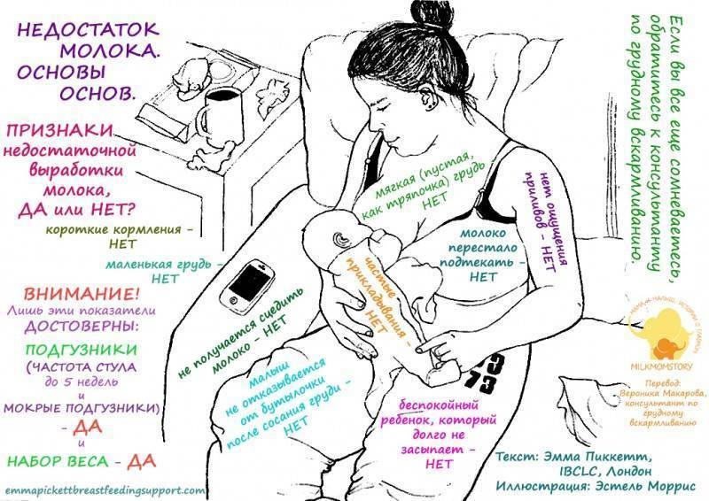 Как увеличить лактацию и что делать, если не хватает грудного молока в домашних условиях