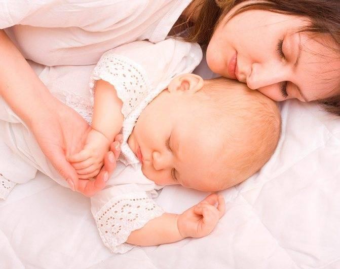 Совместный сон с новорождённым: преимущества и недостатки