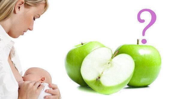 Можно ли есть яблоки при грудном вскармливании (гв) и какие наиболее полезны?