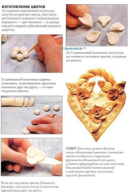 Соленое тесто для лепки: 3 простых рецепта в домашних условиях и 3 идеи для поделок