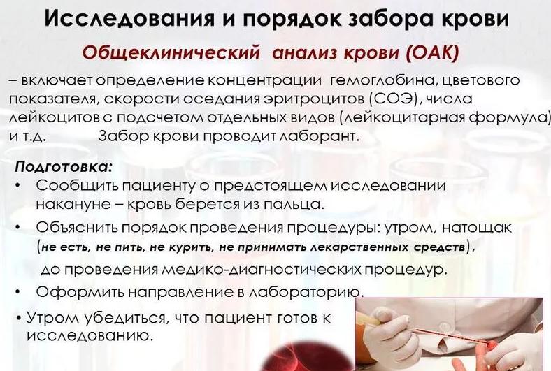 Можно ли есть перед сдачей крови из пальца ребенку