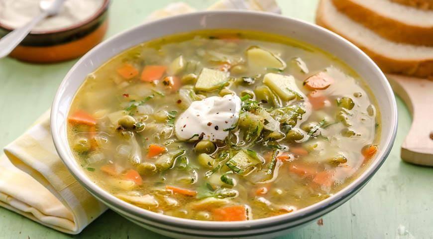 Овощной суп с рыбой – кулинарный рецепт