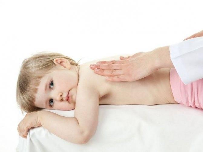 Массаж при бронхите у детей