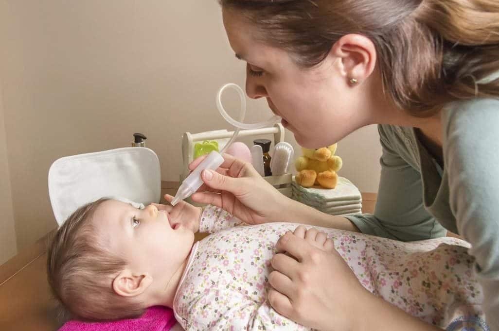 Заложенность носа у новорожденного без соплей, причины затрудненного носового дыхания и заложенного носа
