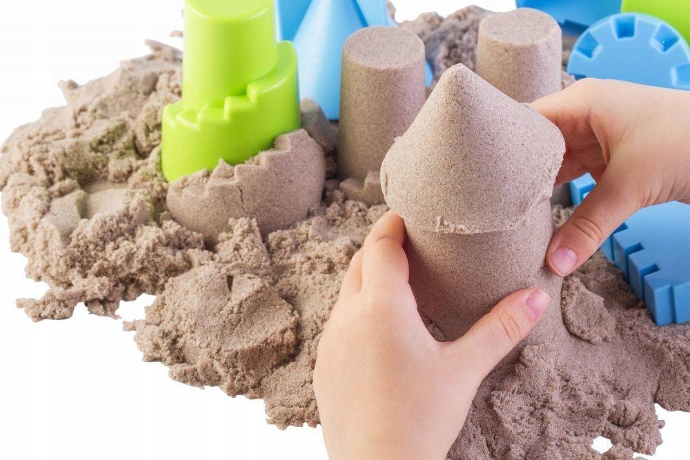 Кинетический песок — развивающая игрушка для детей