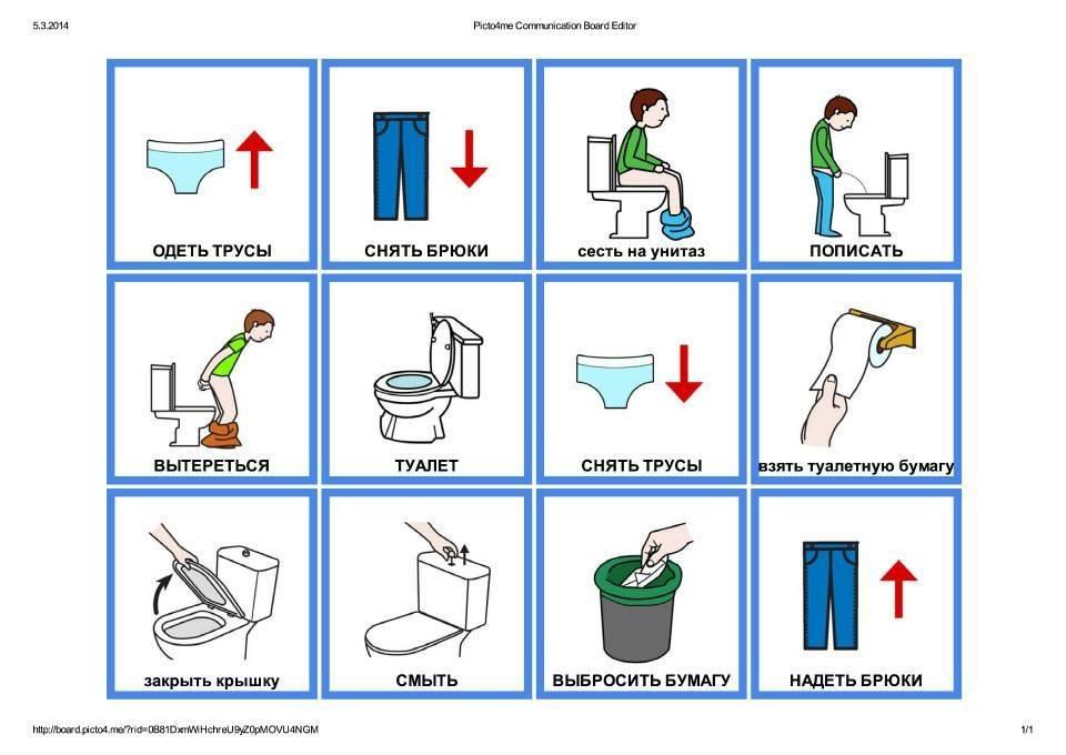 Как научить ребенка вытирать попу самостоятельно (после туалета)?