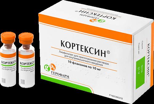 Кортексин 5 мг – официальная инструкция по применению, аналоги