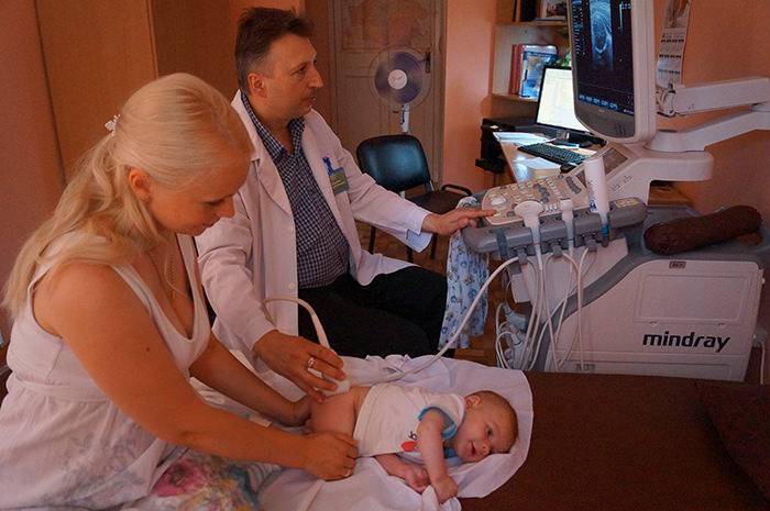 Узи новорожденным и его необходимость