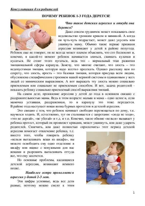 Что делать, если ребенок кусается: советы психолога