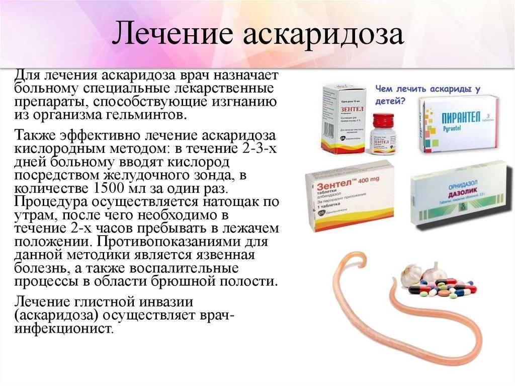 Симптомы аскаридоза у детей: первичная диагностика и лечение