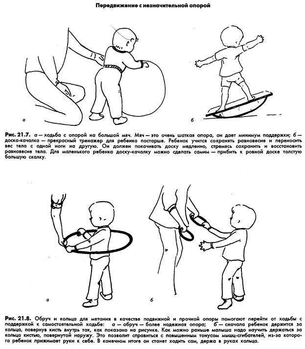 Во сколько месяцев можно ставить ребенка на ножки