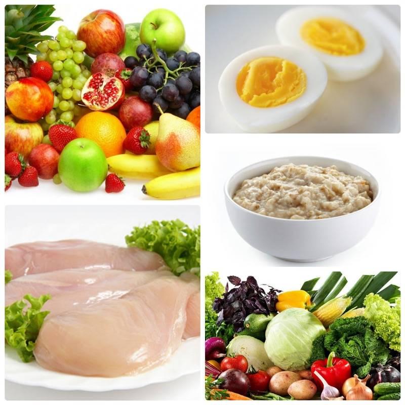 Белковая диета при беременности и эко