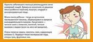 Что делать, если у ребенка боли в животе и рвота с сопутствующими симптомами (температурой и поносом)? как избавить ребенка от болей в животе с поносом.