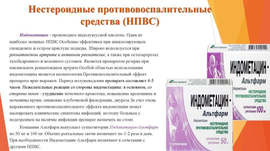 Противовоспалительные препараты широкого спектра действия