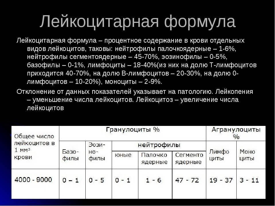 Нормы общего анализа крови у детей расшифровка + таблицы