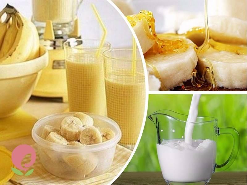 Банан какао и молоко от кашля: рецепты средств
