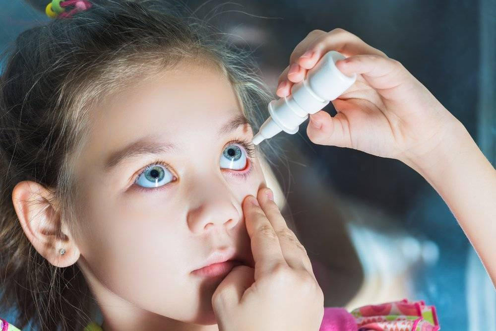 Как лечить конъюнктивит у детей в домашних условиях